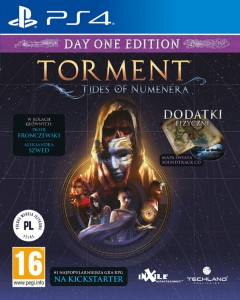 PS4 Torment Tides of Numenera PL