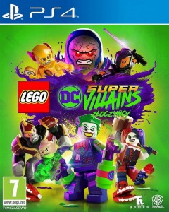 PS4 Lego DC Super Villains Złoczyńcy PL