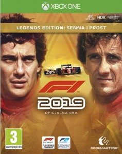 XONE F1 2019 Legends Edition