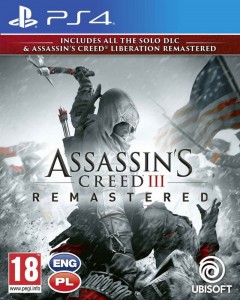 PS4 Assassin's Creed 3 + Liberation Remastered PL