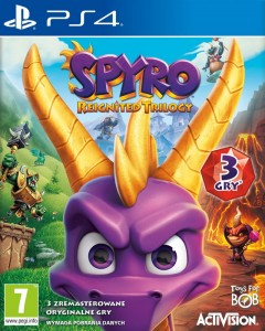 PS4 Spyro Reignited Trilogy PL