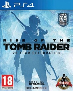 PS4 Rise of The Tomb Raider PL 20 Years Celebration