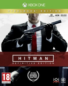 XONE Hitman Definitive Edition PL + Steelbook