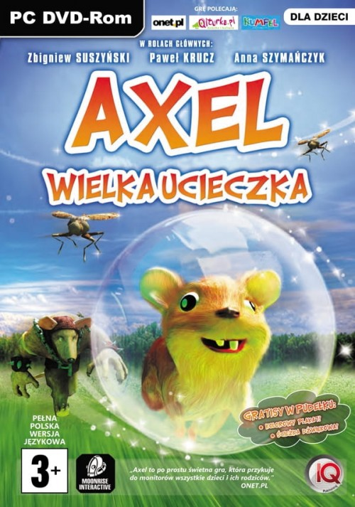 Ogromny Axel Wielka Ucieczka PL EXERION.PL QN14